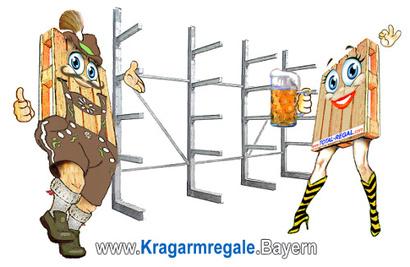 KRAGARM-REGALE