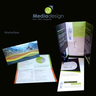 Außenwerbung, Printwerbung, Grafikdesign, Webdesign & Fotografie